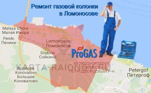 Ремонт газовой колонки в Ломоносове